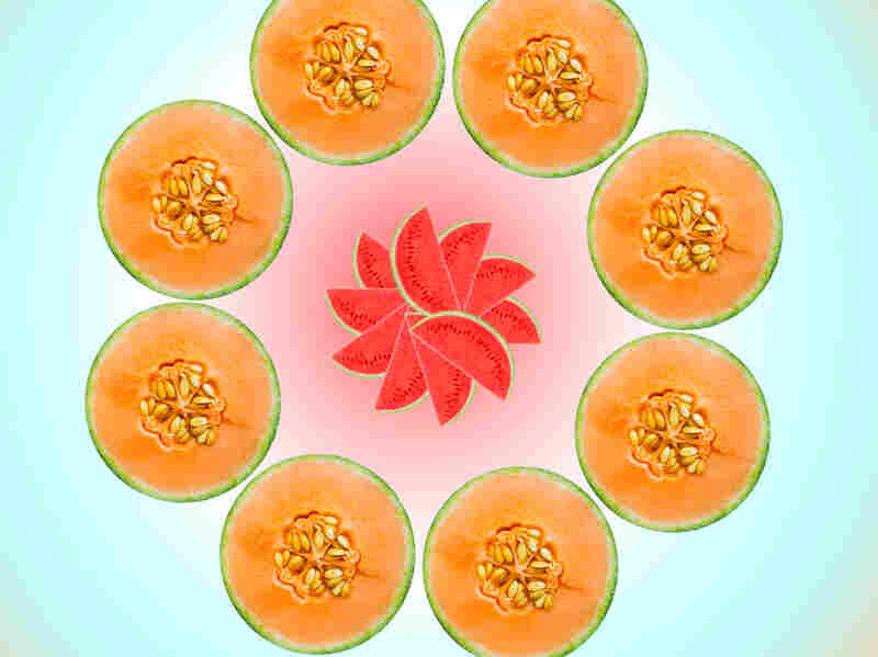 """Relax with Food Porn Index's """"melon meditation."""" Om ..."""