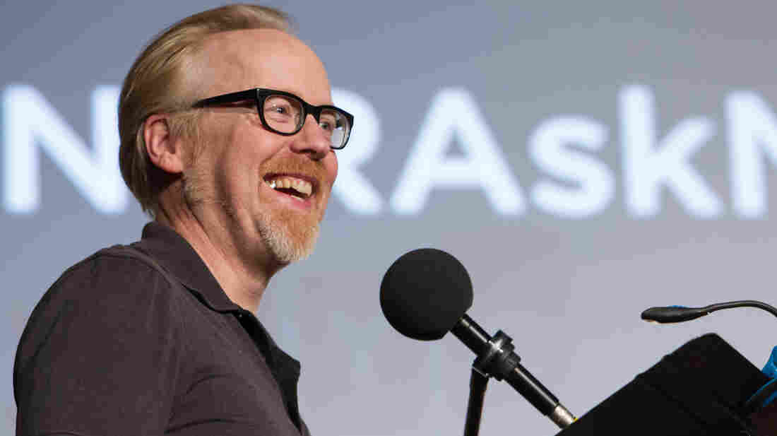 Adam Savage has the coolest, and perhaps most dangerous, job in the world.