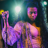Kelis, seen here at NPR Music's SXSW Showcase in Austin, Texas on Wednesday night, performed her first show in America in almost four years.