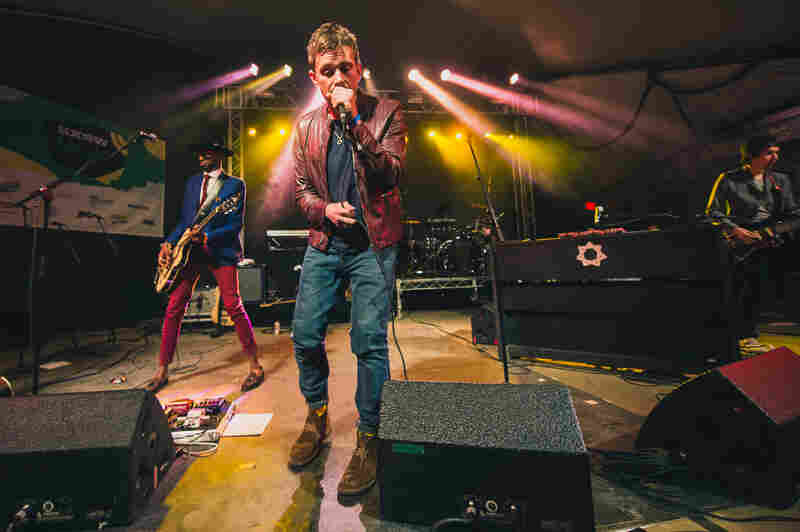 Damon Albarn and his band closed our SXSW Showcase from Stubb's Bar-B-Q on Wednesday night.