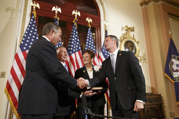 Democrats may have lost the battle in a Florida special election, which Republican Rep. David Jolly (right) won and in which the Affordable Care Act figured prominently. But they don't think they have lost the health-law messaging war.