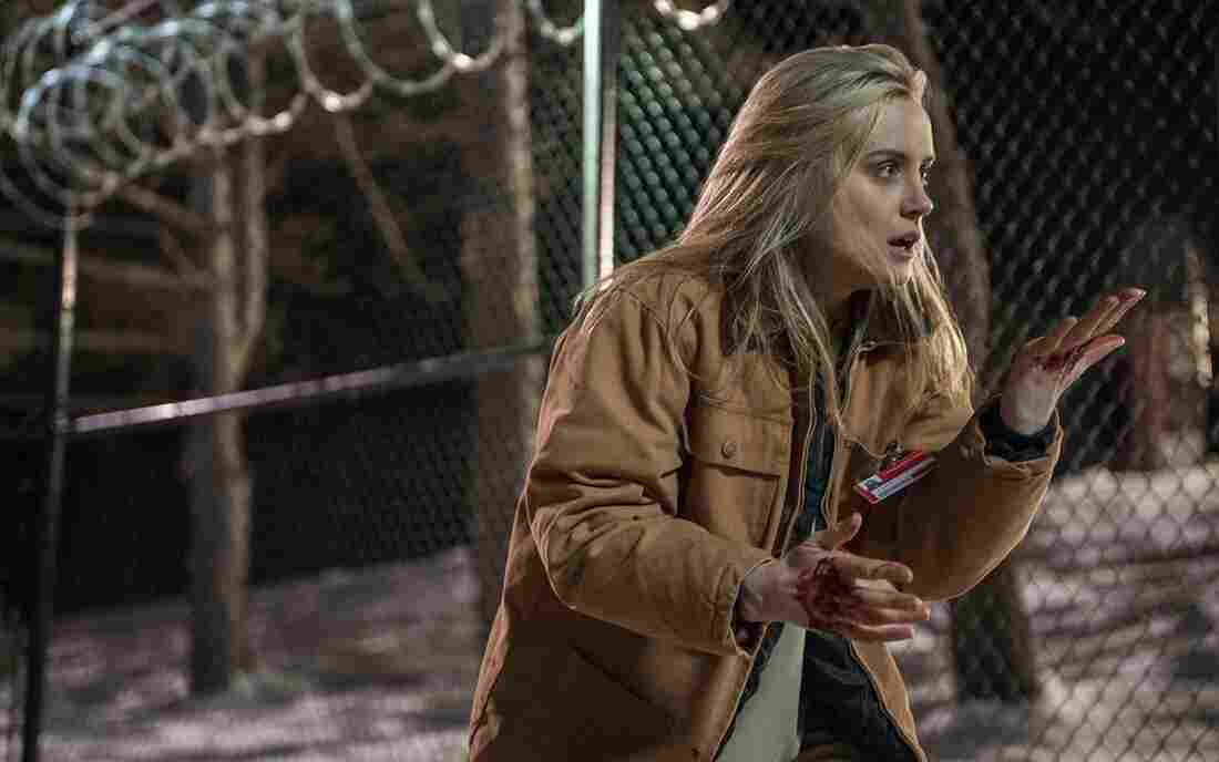 Taylor Schilling in a scene from Netflix's Orange Is The New Black.