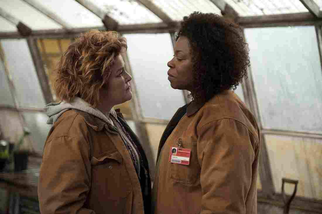 Kate Mulgrew and Lorraine Toussaint in a scene from Netflix's Orange is the New Black.