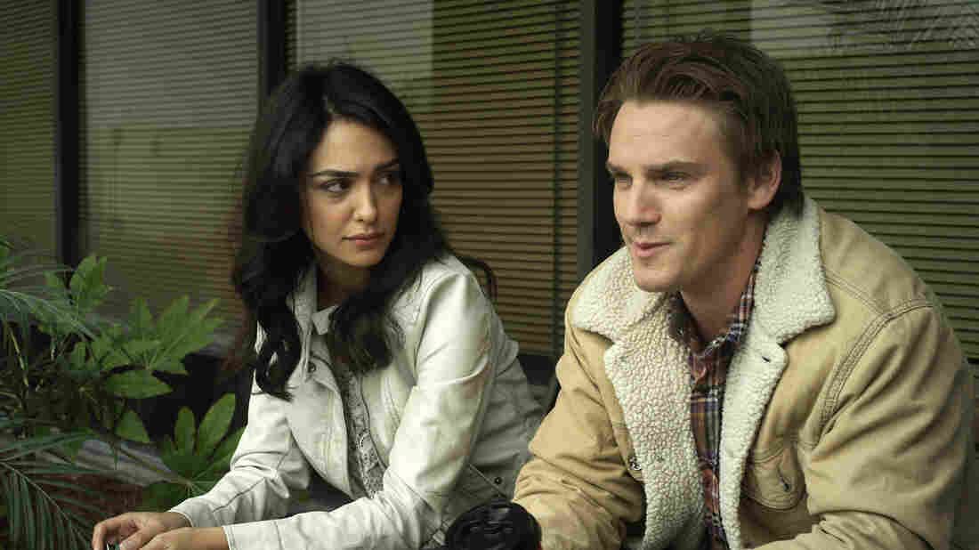 Nazanin Boniadi (left) occasionally lights up the screen as the lovestruck Shirin, but in the end her performance is hemmed in by the flatness of the film she anchors.