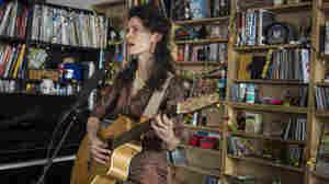 Diane Cluck: Tiny Desk Concert