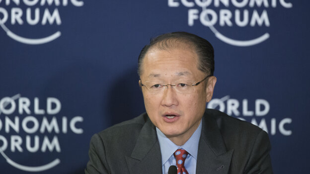Jim Yong Kim joined the World Bank as president in 2012.