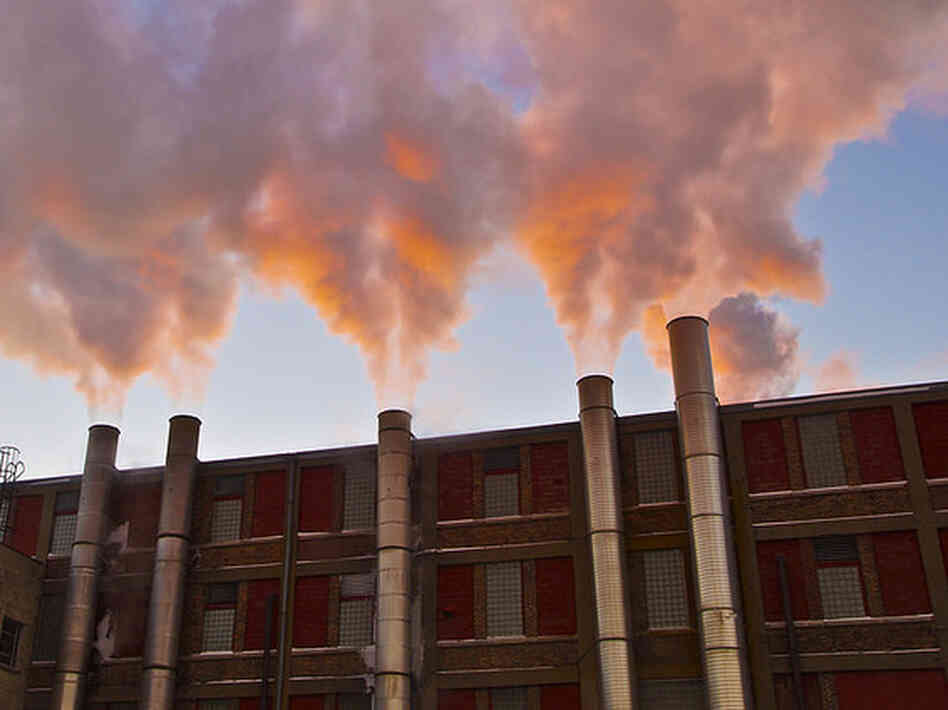 Cloud-making machines or smokestacks?
