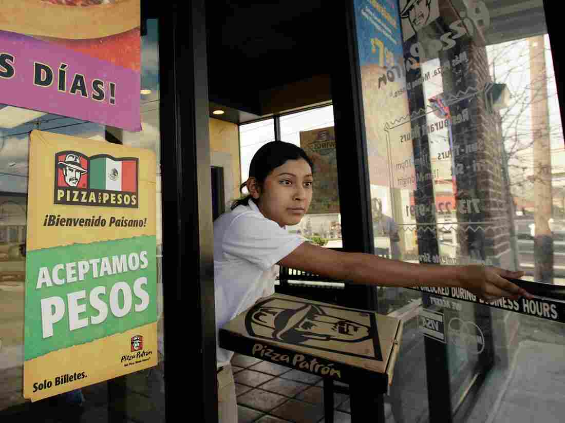 Pizza Patrón hires bilingual employees to serve their core customer base, Mexican immigrants.