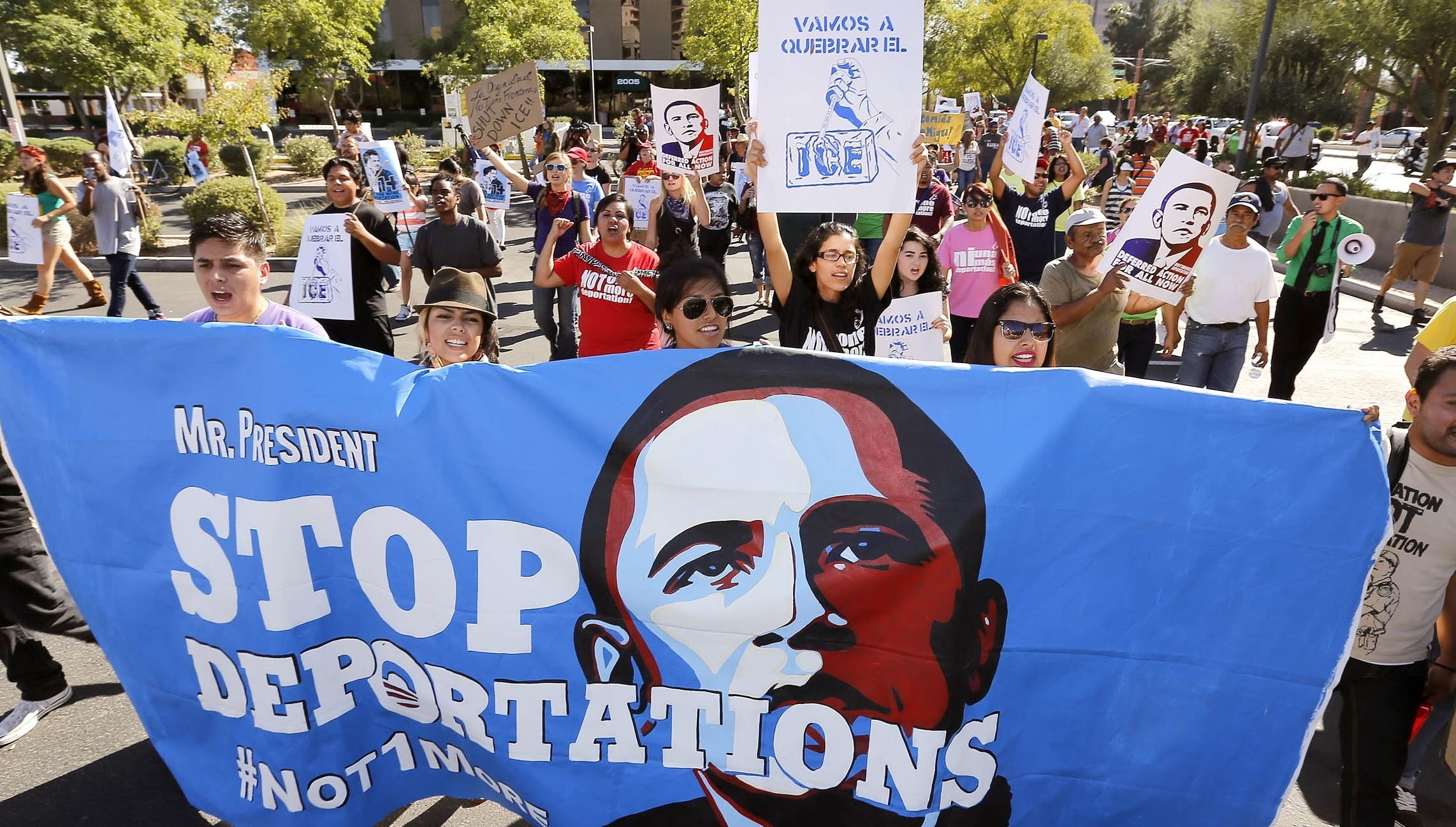 Hispanic Activists Vow To Keep Pressing White House Over Deportations