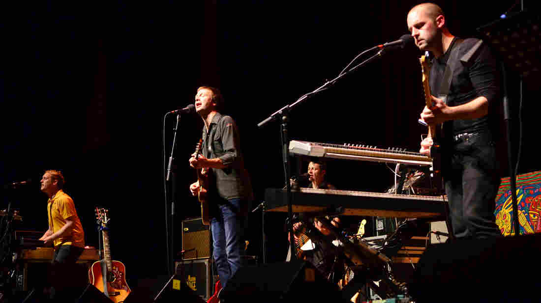 Bell X1 performs at West Virginia University in 2011.