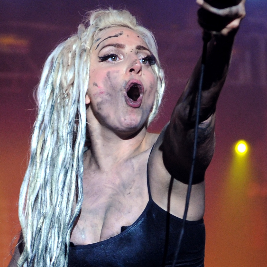 Lady Gaga performs on the Doritos #BoldStage at Stubb�s Bar-B-Q on March 13, 2014 at SXSW.
