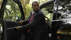 Lance Gross plays Marcus Finley. Think of him as the show's Jack Bauer.