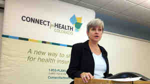 Patty Fontneau, executive director and CEO, of Connect for Health Colorado, acknowledged there were problems with the exchange when it opened.