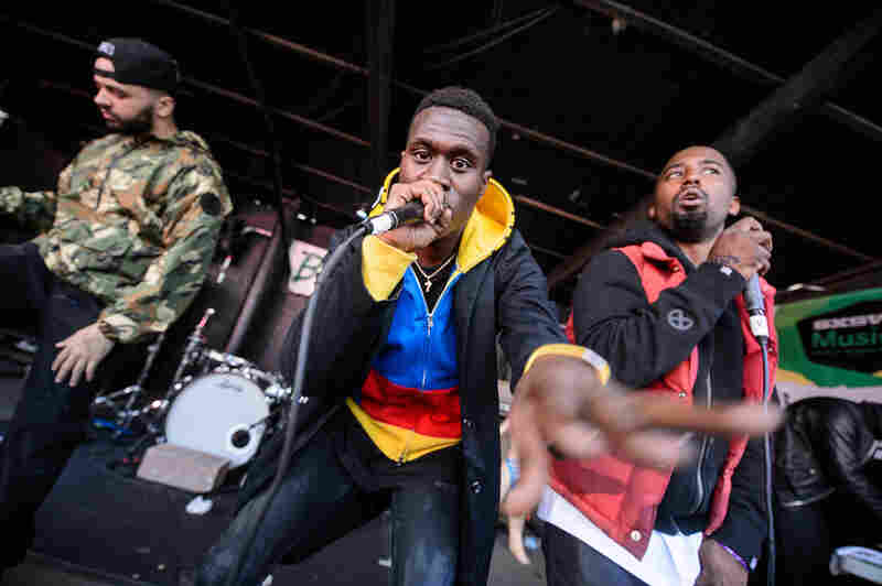 Drugged-out hip-hop group Overdoz put on an energetic set at Red 7.