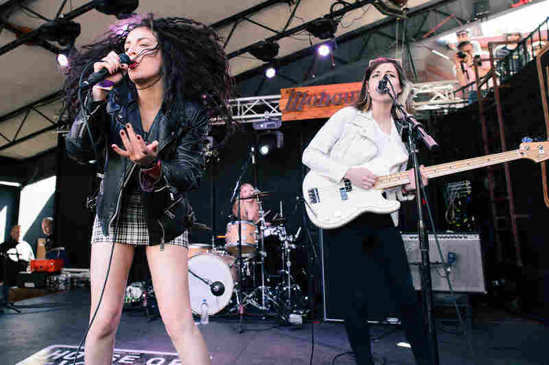 Charli XCX at The Mohawk for Spin's day party.
