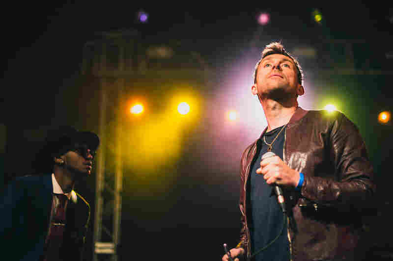 Damon Albarn's subdued set at the NPR Music showcase at Stubb's drew mostly from his forthcoming album, Everyday Robots.