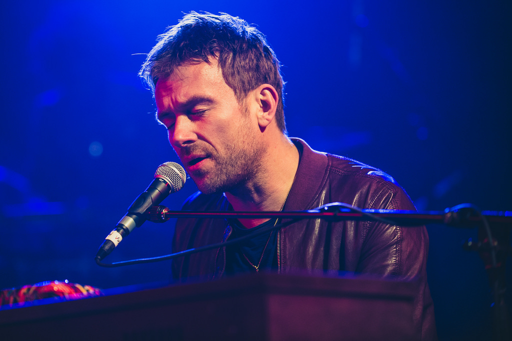 Damon Albarn at the NPR Music showcase at Stubb's.