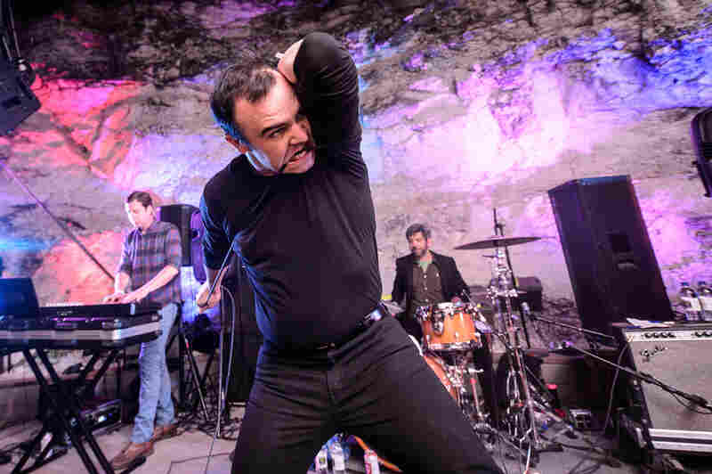 Future Islands at Cheer Up Charlie's.