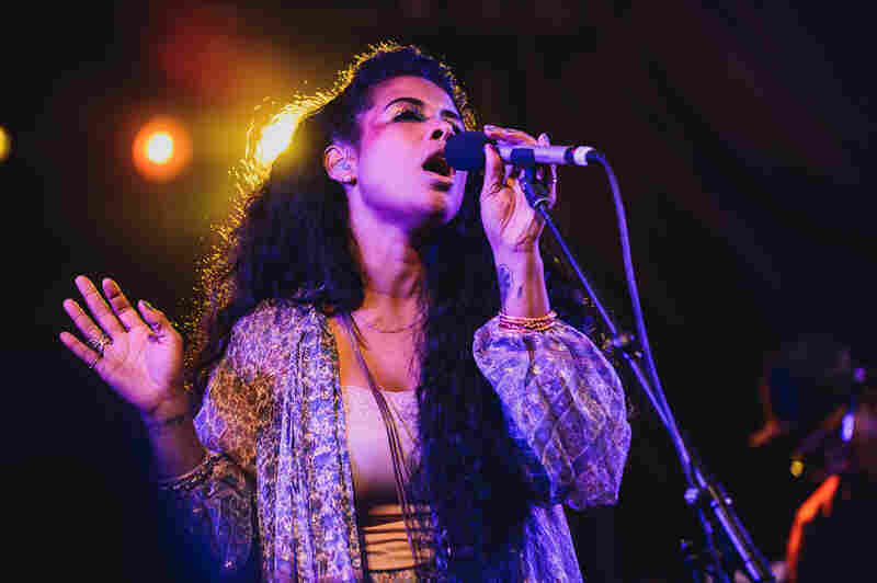 "Kelis played classics like ""Milkshake"" and songs from her forthcoming album, Food, at the NPR Music showcase at Stubb's."