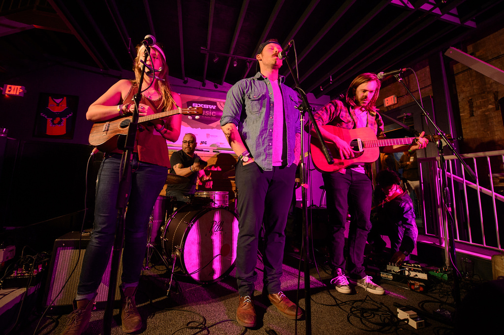 Penny & Sparrow performs at The Tap Room during SXSW 2014.