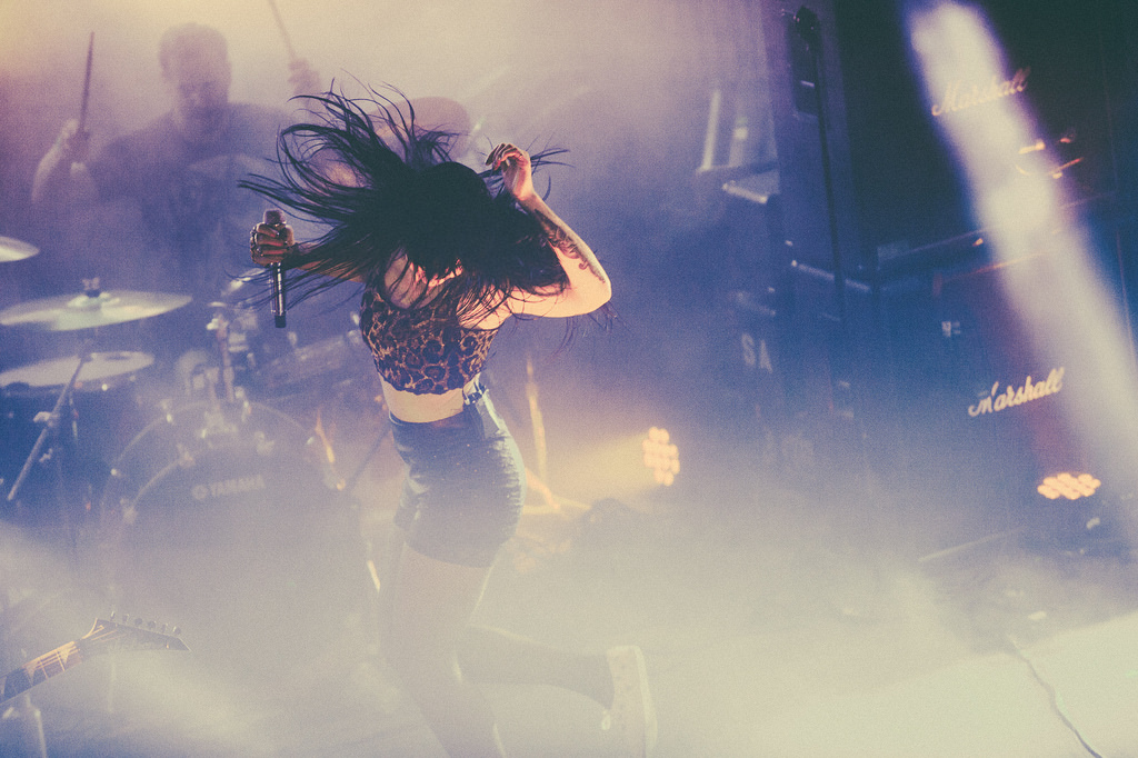 Alexis Krauss of Sleigh Bells is still able to command attention like almost nobody else.