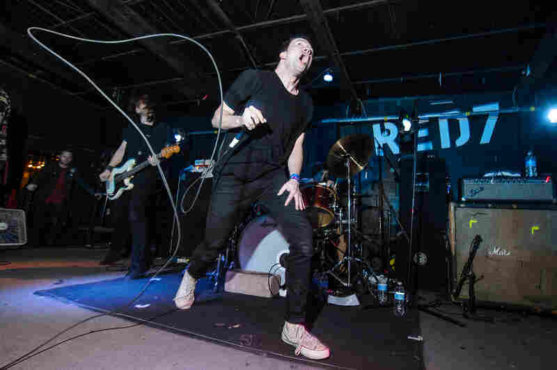 Touché Amoré performs at Red 7 during SXSW 2014.