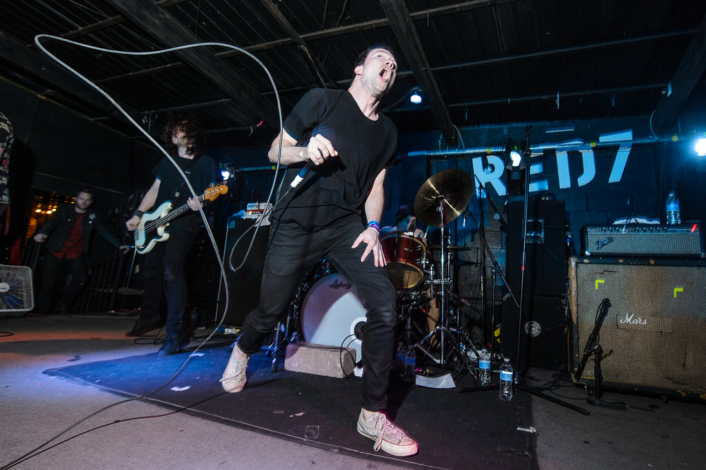 Touche? Amore? performs at Red 7 during SXSW 2014.