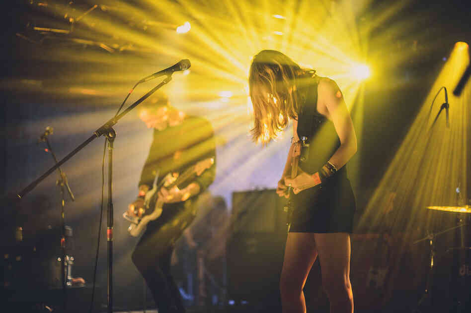 Marshaling an army of effects pedals at Hype Hotel, the London-based Wolf Alice reminded us of a time when noise-pop was a lot fuzzier and dreamier.
