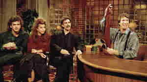 Comedian David Brenner, a staple of TV in the 1970s and '80s, has died at age 78. He's seen here hosting his Nightlife show, with musician Frank Zappa (center) and his children, Dweezil (left) and Moon Unit.