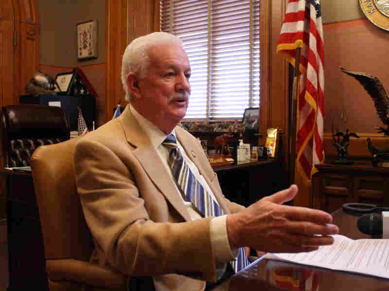 Kansas House Speaker Ray Merrick says it's not his job to discourage legislators from proposing bills. But if it were, he says, some of the recent legislation might not have come to the floor.