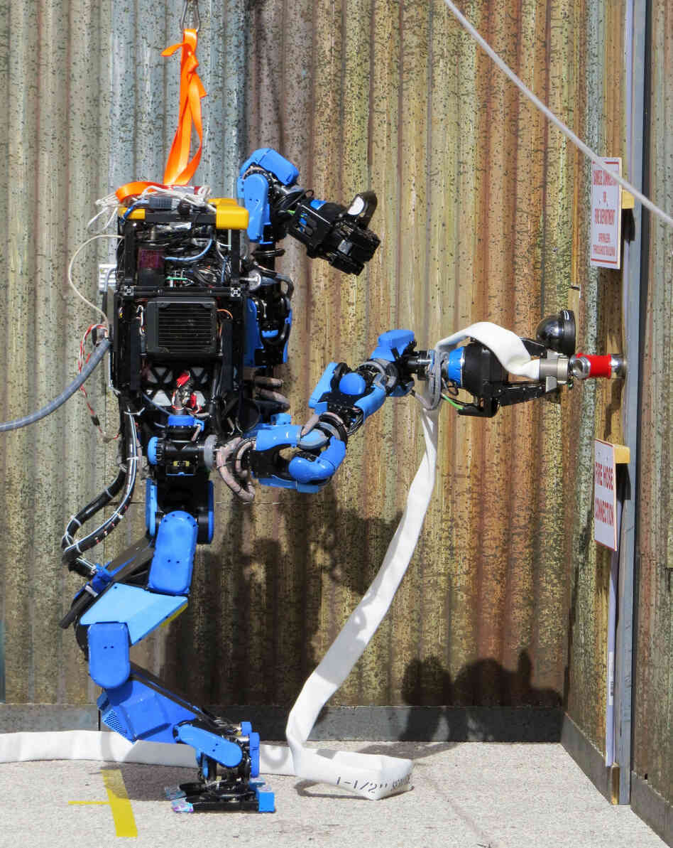 Shaft, a small Japanese company, makes one of the most advanced humanoid robots on the planet. In December, Shaft's bot grabbed the top spot at the Defense Advanced Research Project Agency's Robotics Challenge.