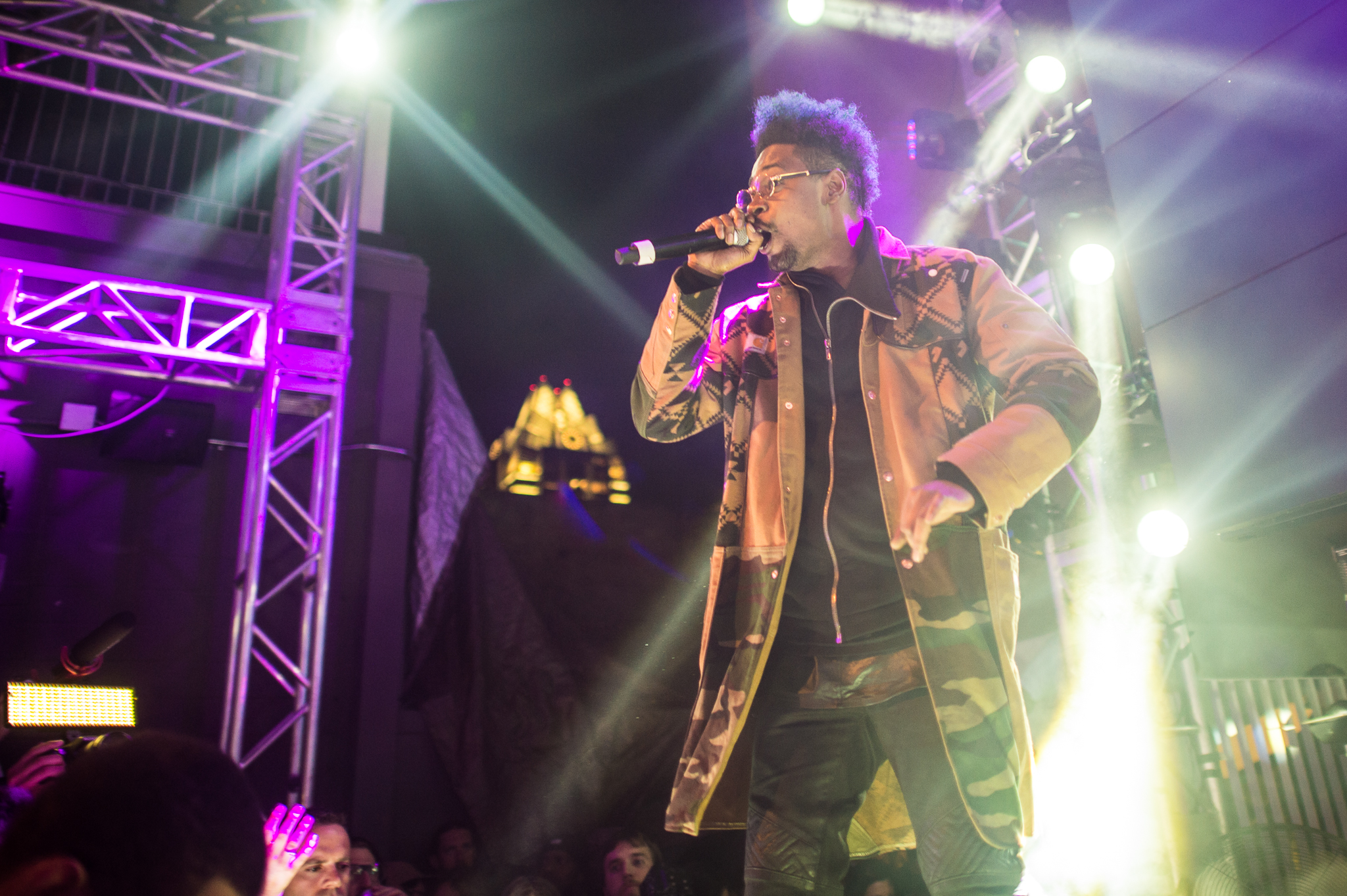 Danny Brown looked sharp performing at the Belmont on Saturday, March 15.
