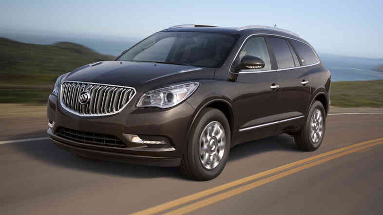 The 2013 Buick Enclave.
