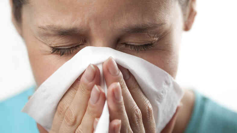 Just the sniffles? Could be the flu.