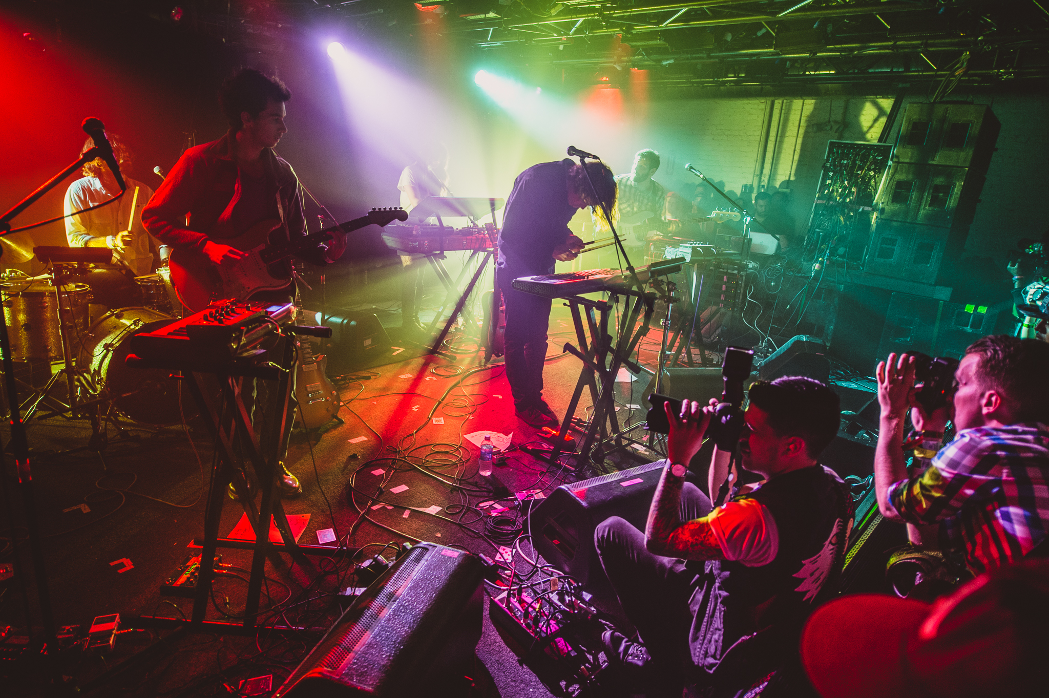 Washed Out performs at the Hype Hotel during SXSW 2014.