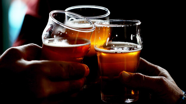 I'll Drink To That: Craft beer sales jumped 20 percent last year.