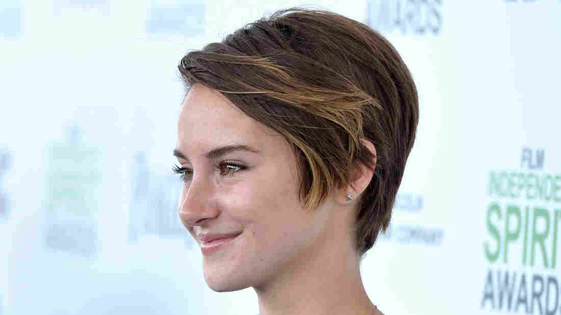Shailene Woodley, pictured at this year's Independent Spirit Awards, stars in the forthcoming Divergent, a big-screen adaptation of the first book in Veronica Roth's dystopian trilogy.