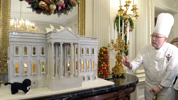 Among Bill Yosses' many confectionary creations for the firs