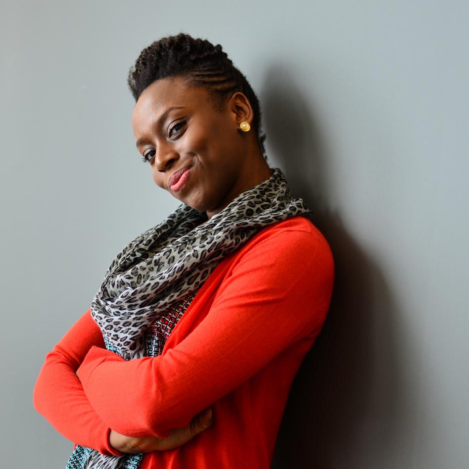 Chimamanda Ngozi Adichie won a National Book Critics Circle award for her novel <em>Americanah.</em> (Amy Ta/NPR)