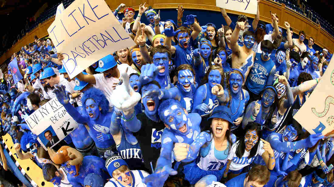 Fans at the game between North Carolina and Duke this month in Durham.