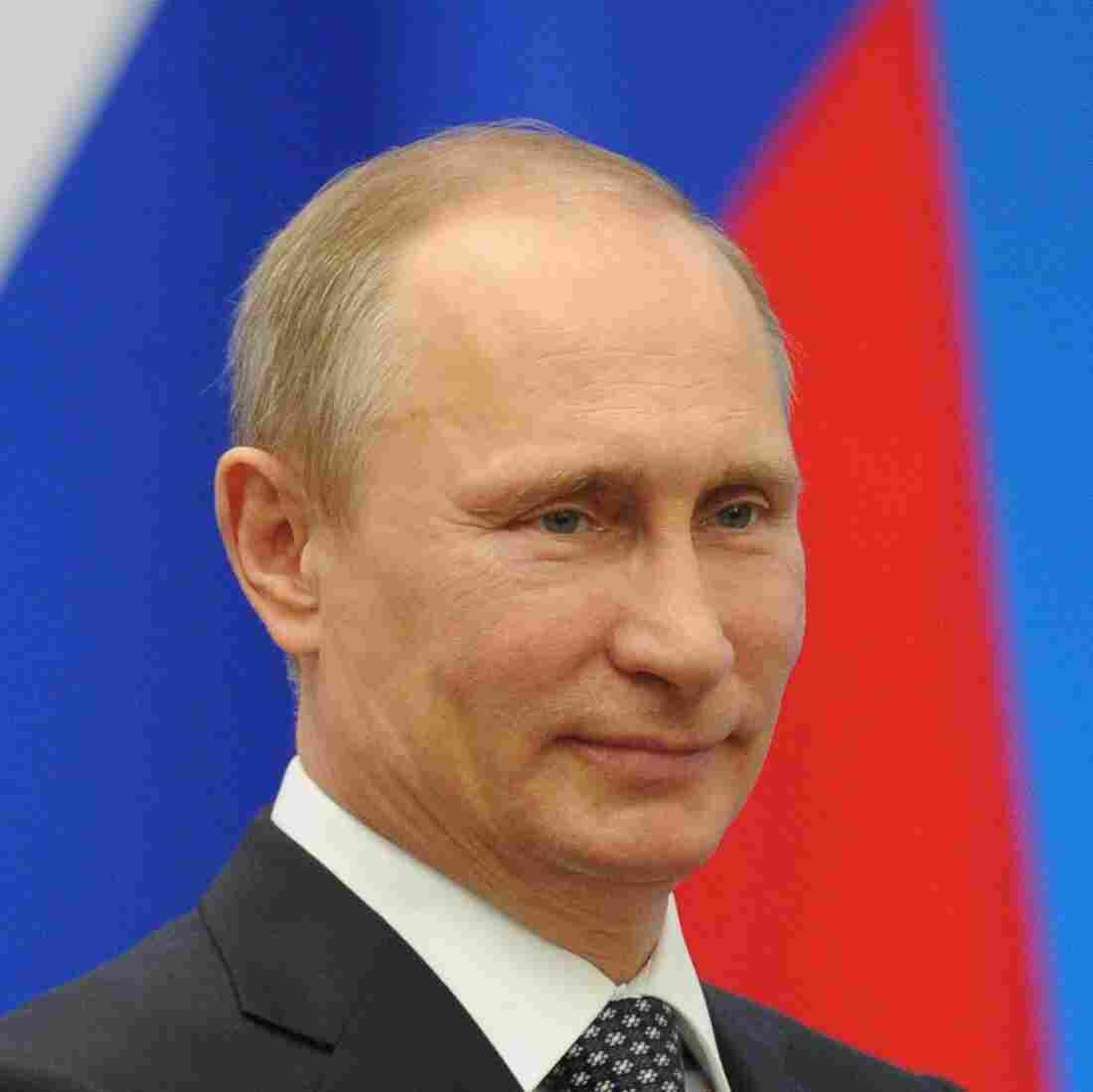 West Is Ruled 'By The Gun,' Putin Says As He Annexes Crimea