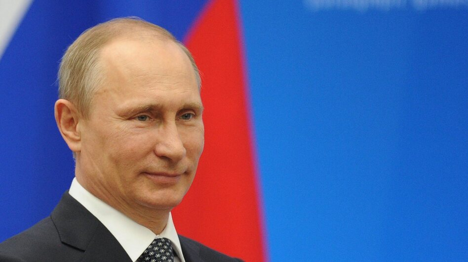 Russian President Vladimir Putin. (EPA/Landov )