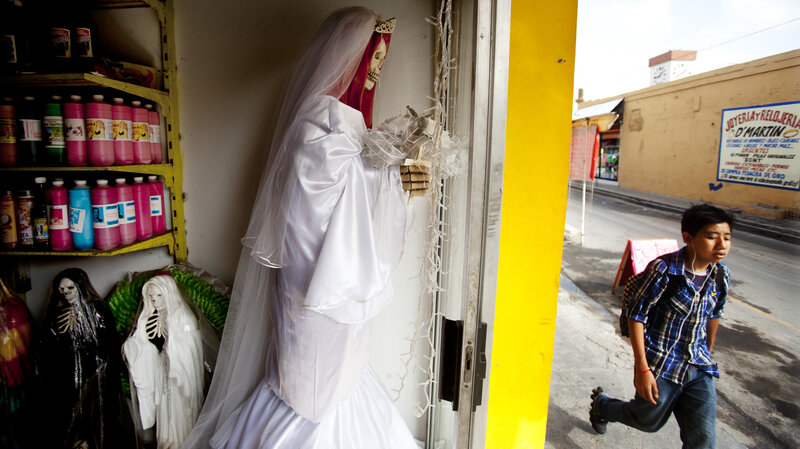 Saint Death' Now Revered On Both Sides Of U S -Mexico Frontier