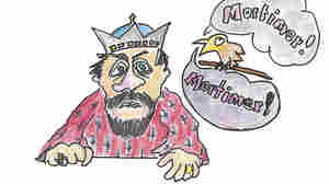 """A starling says, """"Mortimer, Mortimer, Mortimer ..."""""""