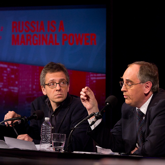 Ian Bremmer (left) and Edward Lucas argue that Russia is failing to play a constructive role in global affairs.