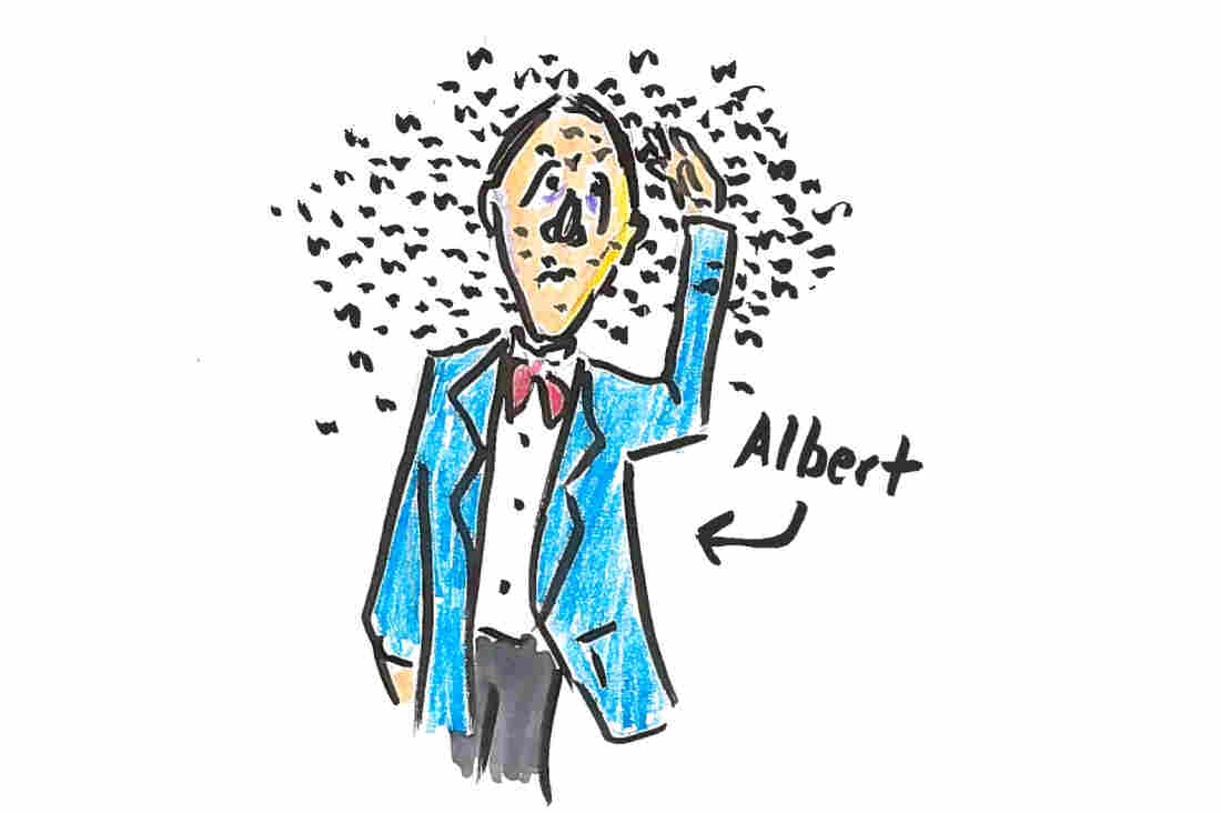 Dr. Albert Child described a huge swarm of locusts in the 19th century.
