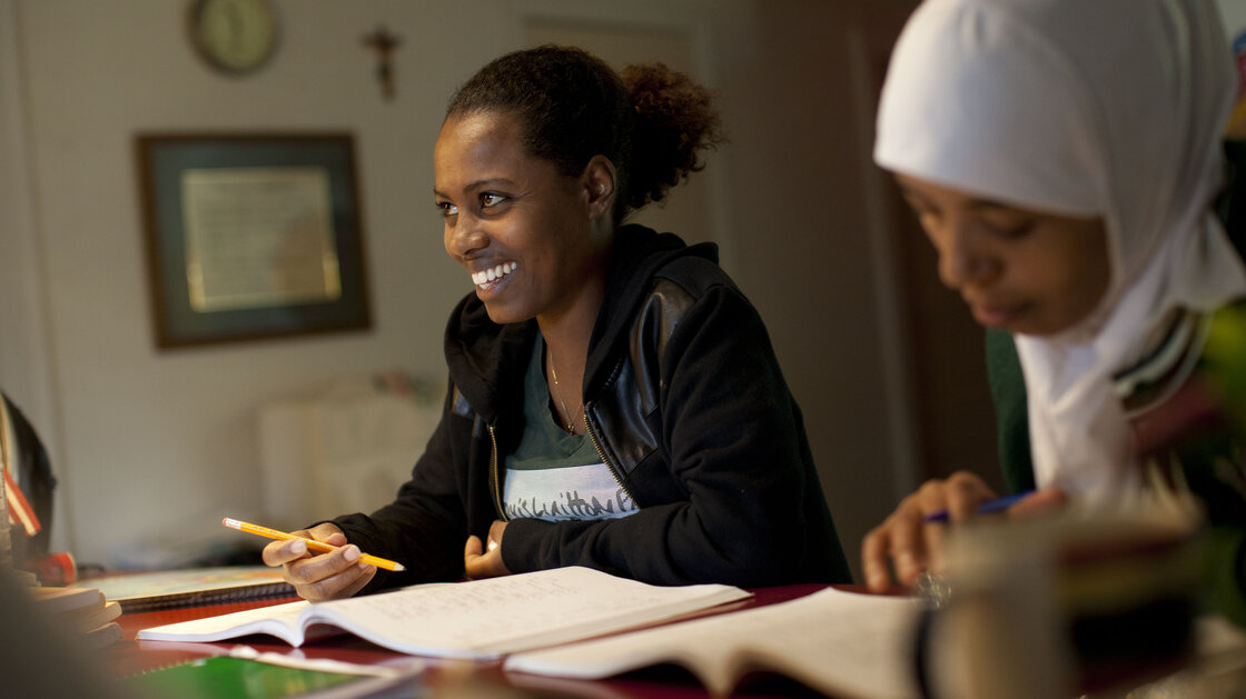 Saraa Zewedi Yilma is seeking asylum from Ethiopia. Her journey to the U.S. border cost $15,000.