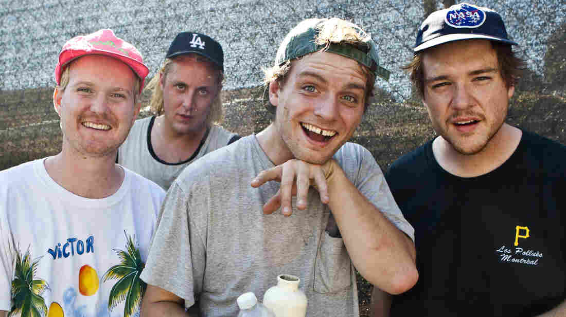 Mac DeMarco's album, Salad Days, comes out April 1.