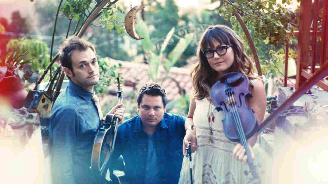 Nickel Creek's new album, A Dotted Line, comes out April 1.