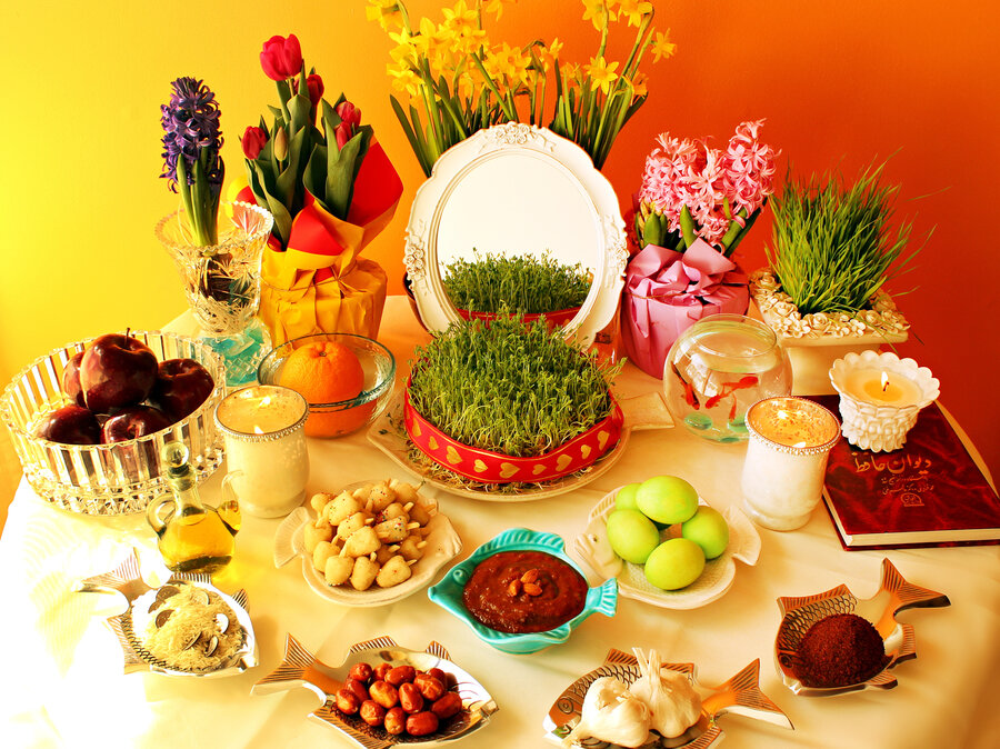 Persian New Years Table Celebrates Natures Rebirth Deliciously